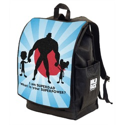 Super Dad Backpack w/ Front Flap