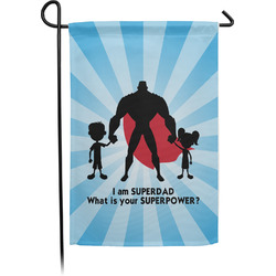 Super Dad Garden Flag - Single or Double Sided
