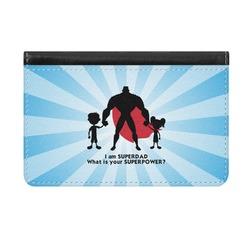 Super Dad Genuine Leather ID & Card Wallet - Slim Style