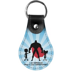 Super Dad Genuine Leather  Keychains