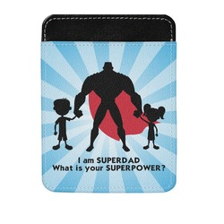 Super Dad Genuine Leather Money Clip