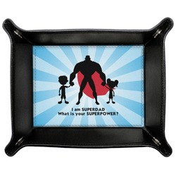 Super Dad Genuine Leather Valet Tray