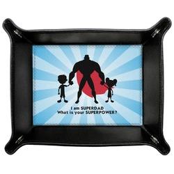 Super Dad Genuine Leather Valet Tray