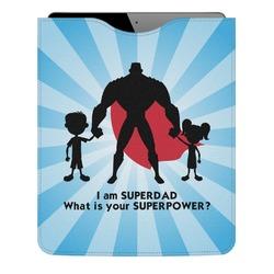 Super Dad Genuine Leather iPad Sleeve