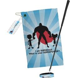 Super Dad Golf Towel Gift Set