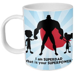 Super Dad Plastic Kids Mug