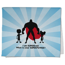 Super Dad Kitchen Towel - Full Print