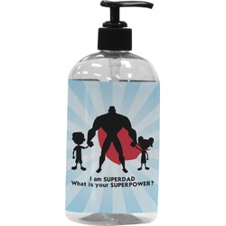 Super Dad Plastic Soap / Lotion Dispenser