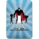 Super Dad Light Switch Cover (Single Toggle)
