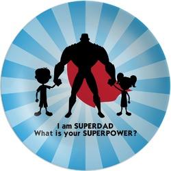 Super Dad Melamine Plate