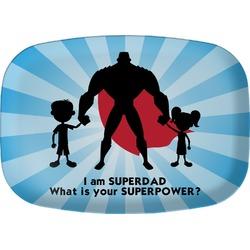 Super Dad Melamine Platter