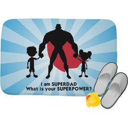 Super Dad Memory Foam Bath Mat