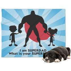 Super Dad Minky Dog Blanket - Large