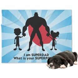 Super Dad Dog Blanket