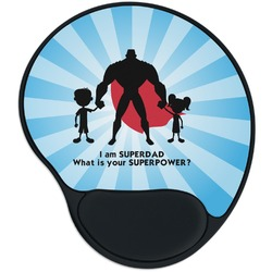 Super Dad Mouse Pad with Wrist Support