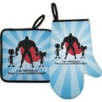 Super Dad Oven Mitt & Pot Holder