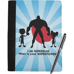 Super Dad Notebook Padfolio
