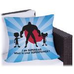 Super Dad Outdoor Pillow
