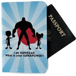 Super Dad Passport Holder - Fabric