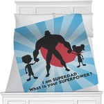 Super Dad Minky Blanket