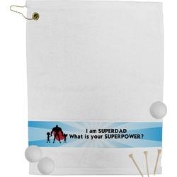 Super Dad Golf Towel