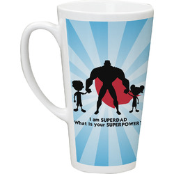 Super Dad Latte Mug