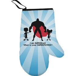 Super Dad Oven Mitt