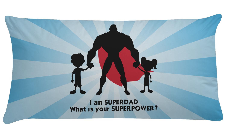Super Dad Pillow Case Youcustomizeit
