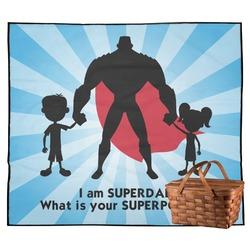 Super Dad Outdoor Picnic Blanket