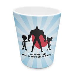 Super Dad Plastic Tumbler 6oz