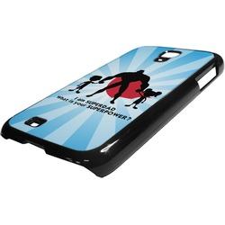 Super Dad Plastic Samsung Galaxy 4 Phone Case