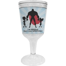 Super Dad Wine Tumbler - 11 oz Plastic