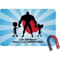 Super Dad Rectangular Fridge Magnet
