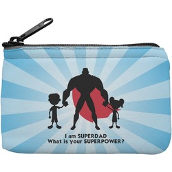 Super Dad Rectangular Coin Purse