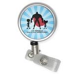 Super Dad Retractable Badge Reel
