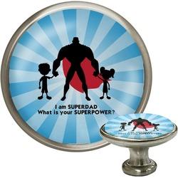 Super Dad Cabinet Knob (Silver)