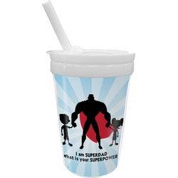 Super Dad Sippy Cup with Straw