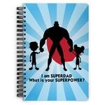Super Dad Spiral Bound Notebook