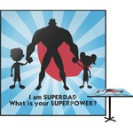 Super Dad Square Table Top