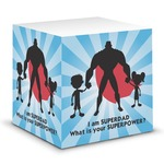 Super Dad Sticky Note Cube