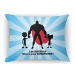 Super Dad Rectangular Throw Pillow Case