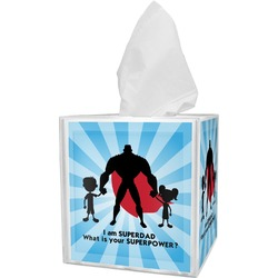 Super Dad Tissue Box Cover