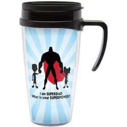 Super Dad Travel Mug with Handle