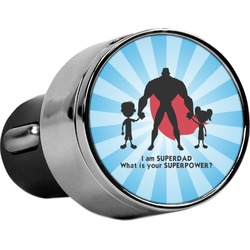 Super Dad USB Car Charger