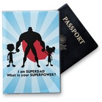 Super Dad Vinyl Passport Holder