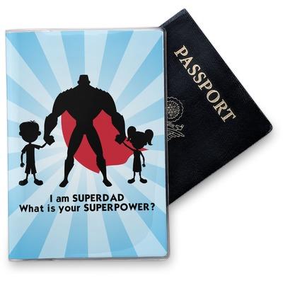 Super Dad Vinyl Passport Holder