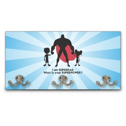 Super Dad Wall Mounted Coat Rack