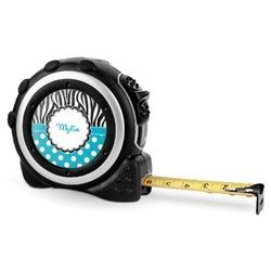 Dots & Zebra Tape Measure - 16 Ft (Personalized)