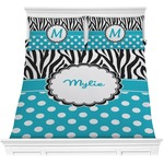 Dots & Zebra Comforters (Personalized)