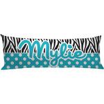 Dots & Zebra Body Pillow Case (Personalized)